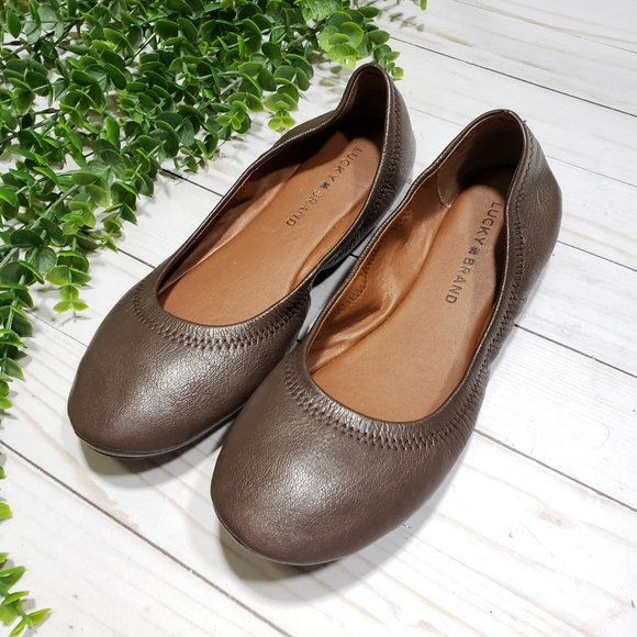 10a78a67d9e7 Lucky Brand Shoes - Lucky Brand Emmie Ballet Flats Brown